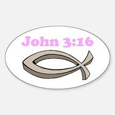 John 316 Decal