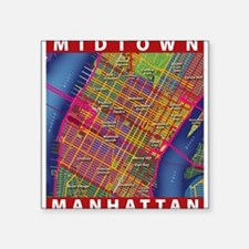 Midtown Manhattan Map Sticker