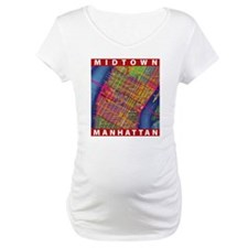 Midtown Manhattan Map Shirt
