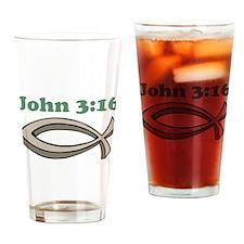 John 316 Drinking Glass