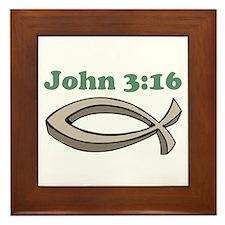 John 316 Framed Tile