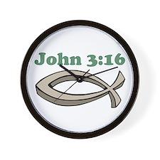 John 316 Wall Clock