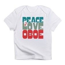 Peace Love Oboe Infant T-Shirt