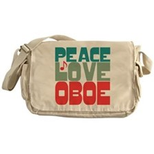 Peace Love Oboe Messenger Bag