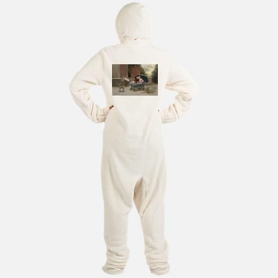 Imagination at Play Footed Pajamas