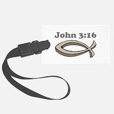 John 316 Luggage Tag