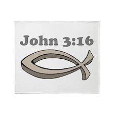 John 316 Throw Blanket