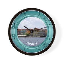 Curacao Porthole Wall Clock