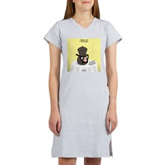 Funeral for a Cartoonist Women's Nightshirt