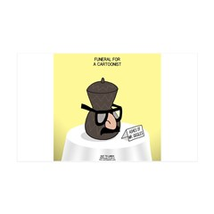 Funeral for a Cartoonist Wall Decal