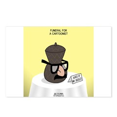 Funeral for a Cartoonist Postcards (Package of 8)