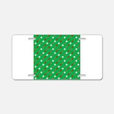 Green Sports Aluminum License Plate