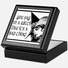 witch is not a bad thing Keepsake Box