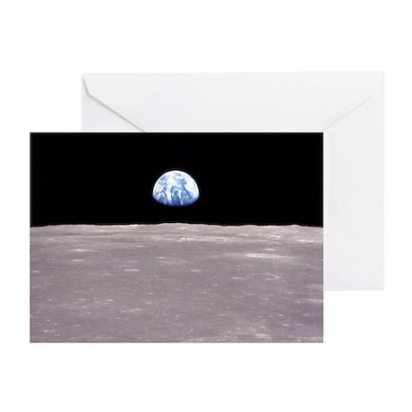 Apollo 11 Lunar Earthrise Christmas Cards (Pkg 6)
