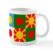 Six rising suns Mug