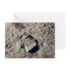 Apollo 11 Bootprint Christmas Cards (Pkg 6)
