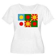 Six rising suns Plus Size T-Shirt