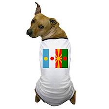 Rising four suns flags Dog T-Shirt