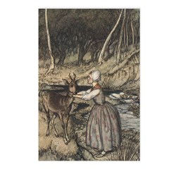 Rackham's Brother & Sister Postcards (Package of 8