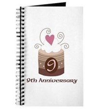 9th Anniversary Cake Journal