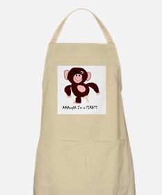 Senor Pirate Monkey BBQ Apron