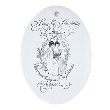 S&S Oval Ornament