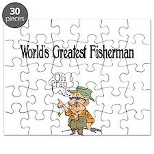 Worlds Greatest Fisherman Puzzle