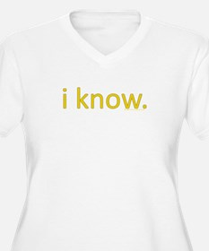 iknow.10x10.b Plus Size T-Shirt