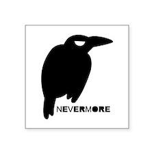 """Nevermore Square Sticker 3"""" x 3"""""""