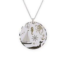 Beige Ocean Necklace