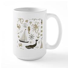 Beige Ocean Mug