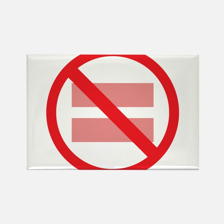 Marriage Equality - NOT ! Rectangle Magnet