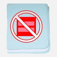Marriage Pro-Inequality baby blanket