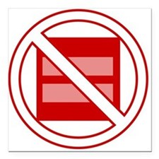 """Marriage Pro-Inequality Square Car Magnet 3"""" x 3"""""""