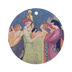 Abbott's Dancing Princesses Ornament (Round)