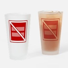 Straight Marriage is Not Square Drinking Glass