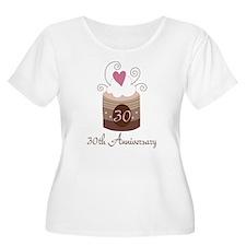 30th Anniversary Cake T-Shirt