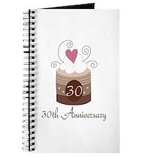 30th Anniversary Cake Journal
