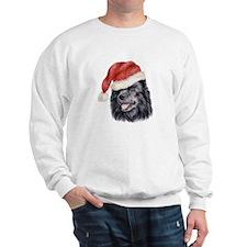 Christmas Swedish Lapphund Sweatshirt
