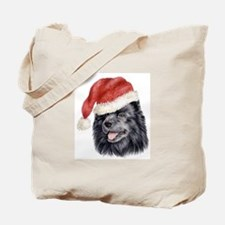 Christmas Swedish Lapphund Tote Bag
