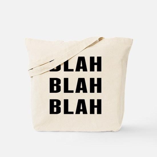 Blah Blah Tote Bag