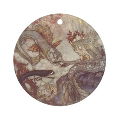 Dulac's Mer King Ornament (Round)