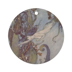 Dulac's Little Mermaid Ornament (Round)
