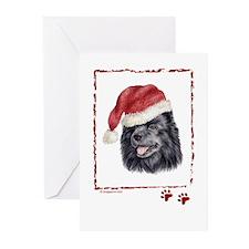 Happy Holidays Swedish Lapphund Greeting Cards