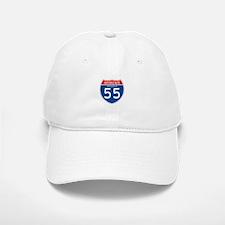 Interstate 55 - AR Baseball Baseball Cap
