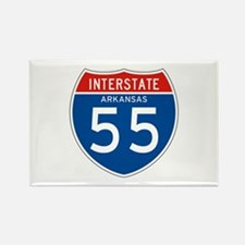 Interstate 55 - AR Rectangle Magnet