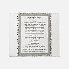 Pope Francis St. Francis SIMPLE PRAYER-Parchment T