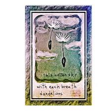 Dandelion Clouds Postcards (Package of 8)