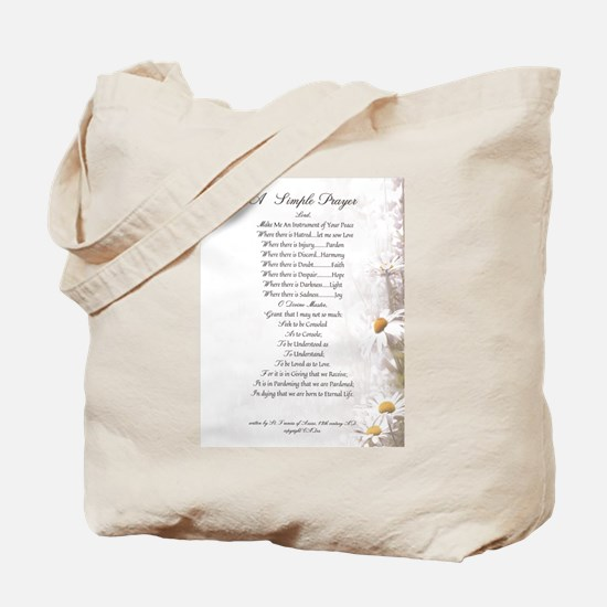 Pope Francis St. Francis SIMPLE PRAYER-Daisies Tot