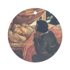 Smith's Sleeping Beauty Ornament (Round)